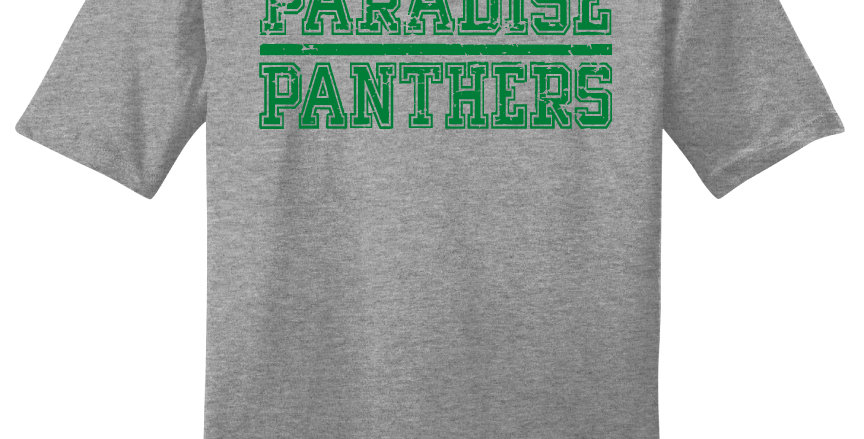 Paradise Panthers Block Print