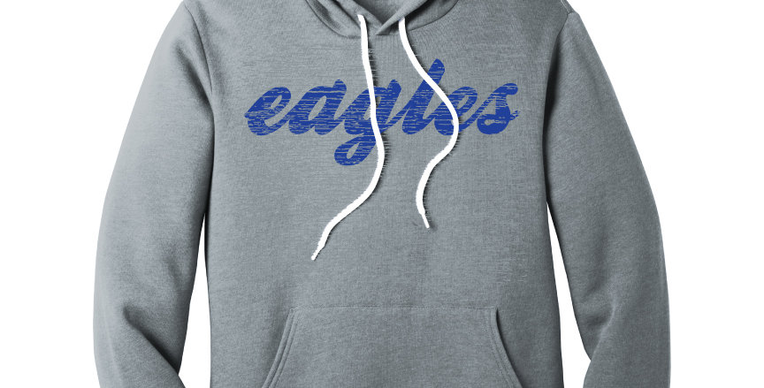 Young Elementary  Eagles Super Soft Hoodie