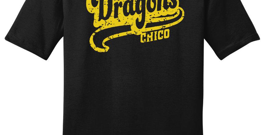 Chico Dragons Script Print