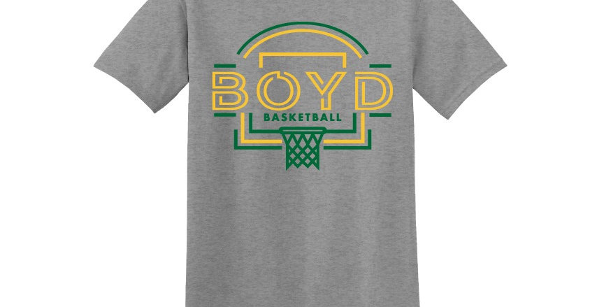 Boyd Basketball Spirit Apparel