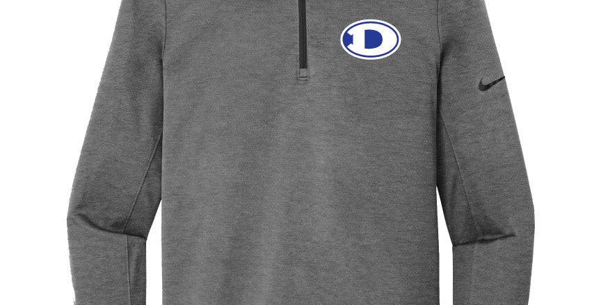 Decatur Nike Dry Half Zip Cover-Up