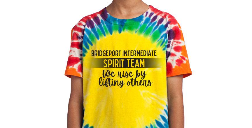 BIS Spirit Team Tie Dye Tee
