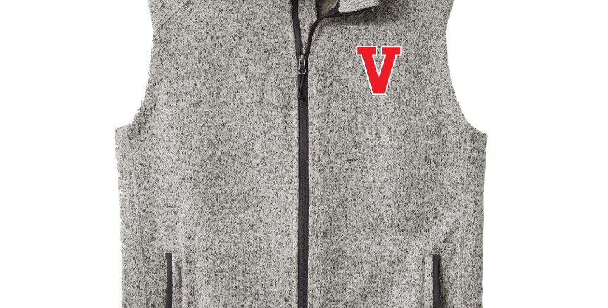 VCA Sweater Fleece Vest