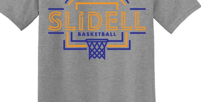 Slidell Basketball Spirit Apparel