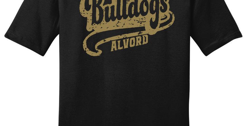 Alvord Bulldogs Script Print