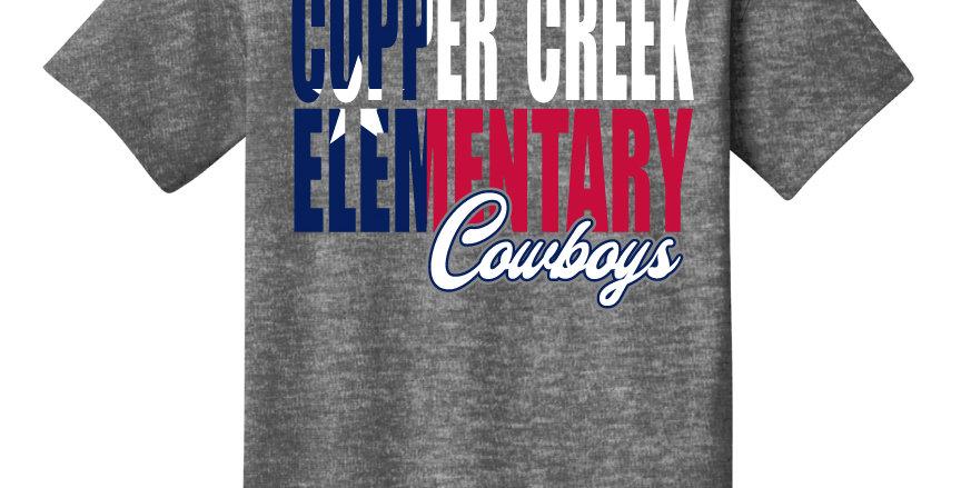 Copper Creek Texas Flag Apparel