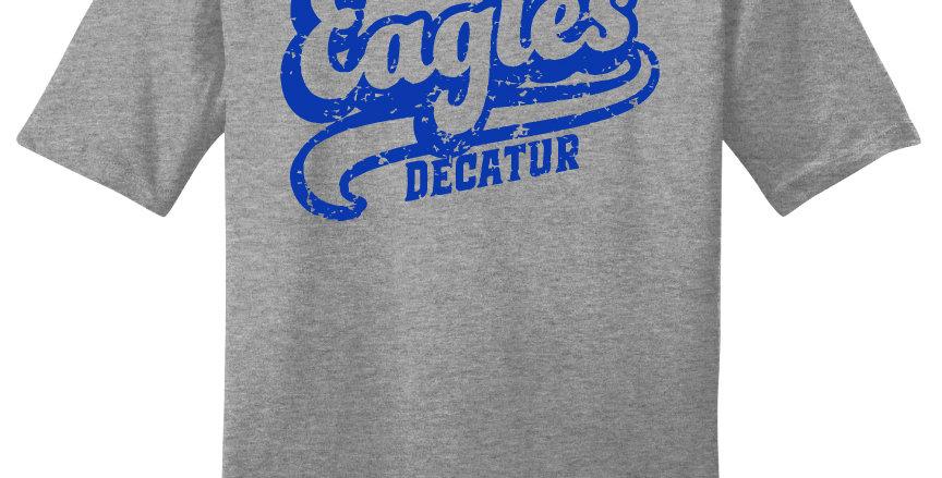 Decatur Eagles Script Print