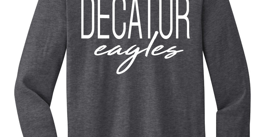 Young Elementary Decatur Eagles Long Sleeve Tee