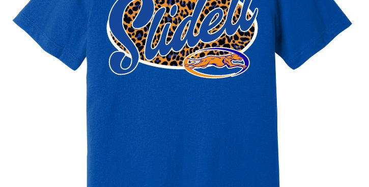 Slidell Spirit Leopard Print Apparel