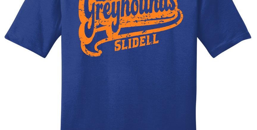 Slidell Greyhounds Script Print