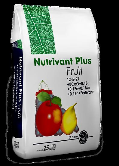 Удобрение минеральное Nutrivant Plus Fruits 12-5-27 (8CaO)+ME