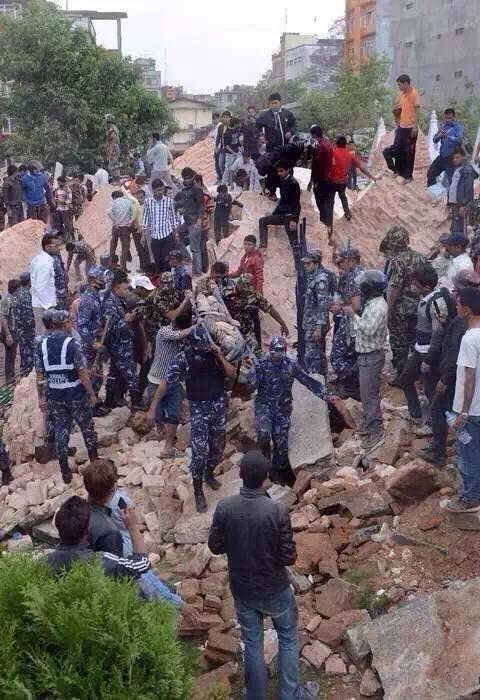 slachtoffers aardbeving