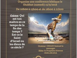 La conférence biblique à Chartres