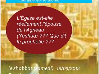 SEMINAIRE BIBLIQUE À PARIS : LE TEMPS DE LA JUSTICE partie 1+ prochain  événement
