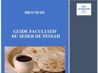 Brochure gratuite pour vous guider dans la célébration de Pessach (Pâque)
