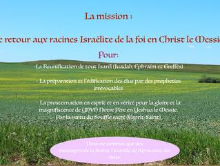 La seule Mission avec YHVH Notre Père bientôt à la radio