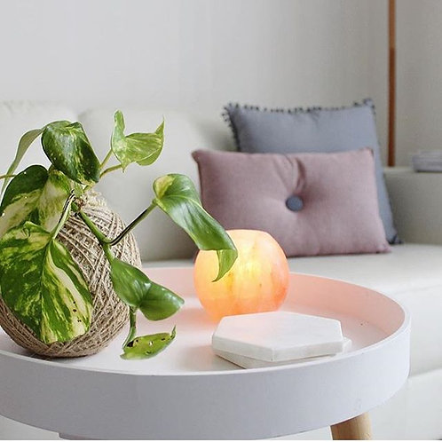 Smooth Salt Tea Light