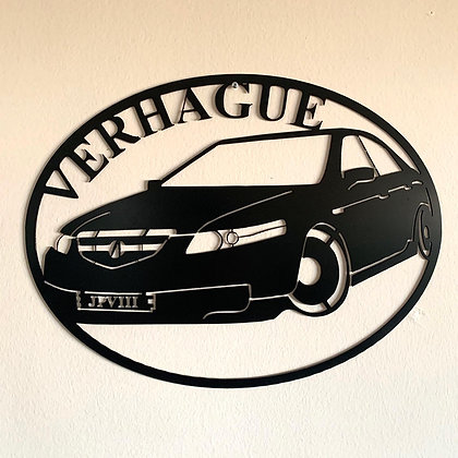 Custom Car Sign