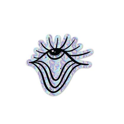 Holographic Eye Sticker