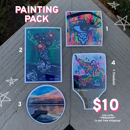 Painting Sticker Pack