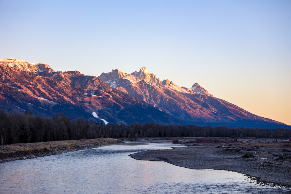 Snake River in Jackson, WY