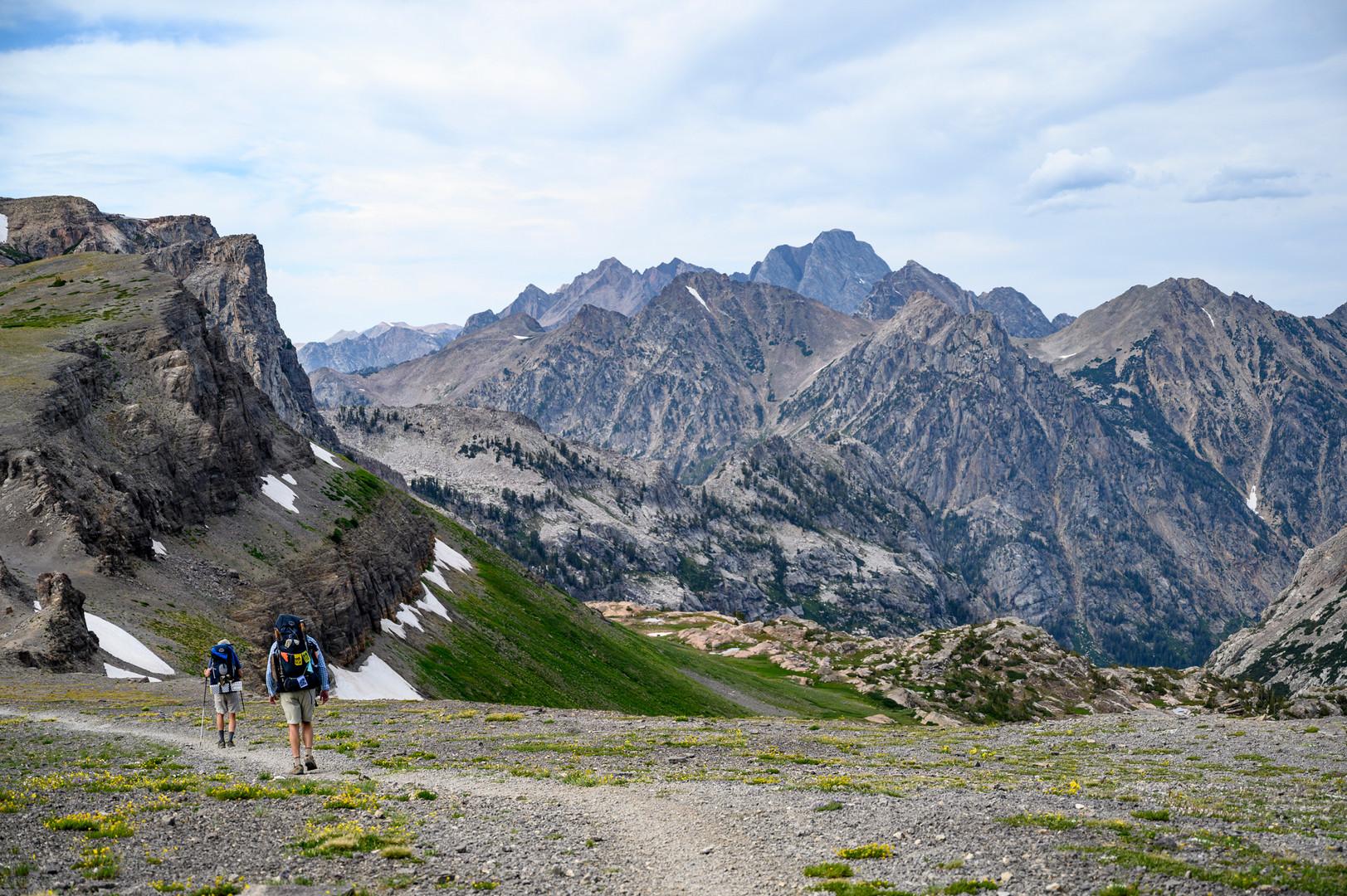 Teton Crest Trail in Grand Teton National Park, Wyoming (through hike)