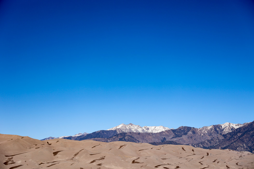 Great Sand Dunes National Park in Mosca, Colorado
