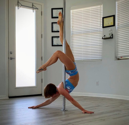 What to expect on your pole dance fitness journey!