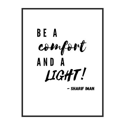 "11x17"" Autographed Comfort & Light Poster"