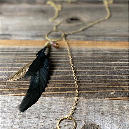 Ringed Flight Necklace
