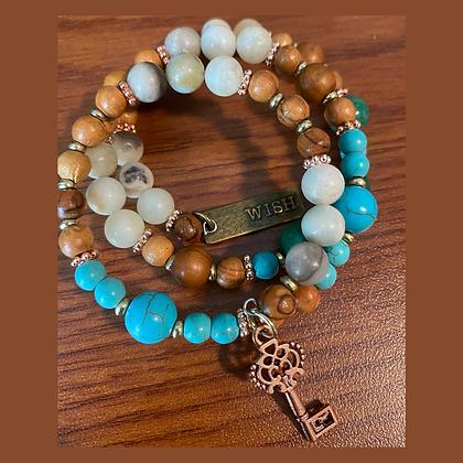 Wish & Lock Bracelet