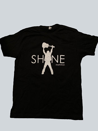 Shine Unisex T-Shirt, Black