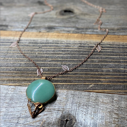 Seasons of Growth Pendant Necklace