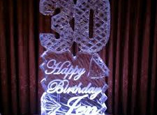 Ice Sculptures Perfect For Every Birthday Celebration