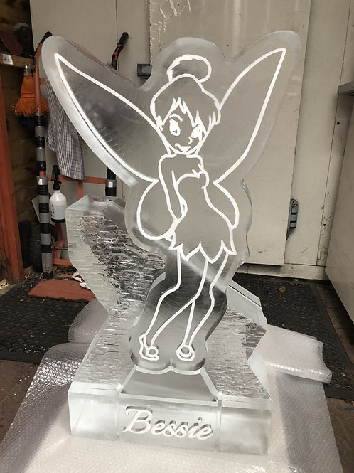 TINKERBELL ICE SCULPTURE