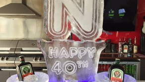 Ice Sculptures are for Birthdays too!