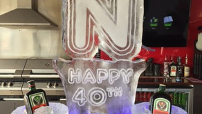 Birthday Ice Sculpture To Celebrate Another Year Older