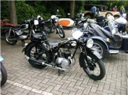 Motorrad- NSU MAX 250 ccm