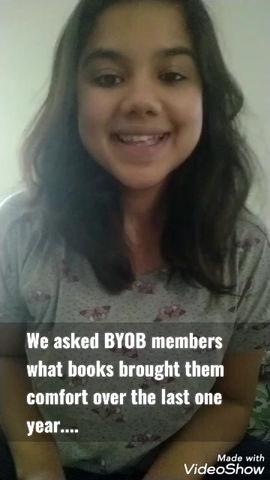 Comfort Reads of BYOB members in April '21 -#WorldBookDay2021