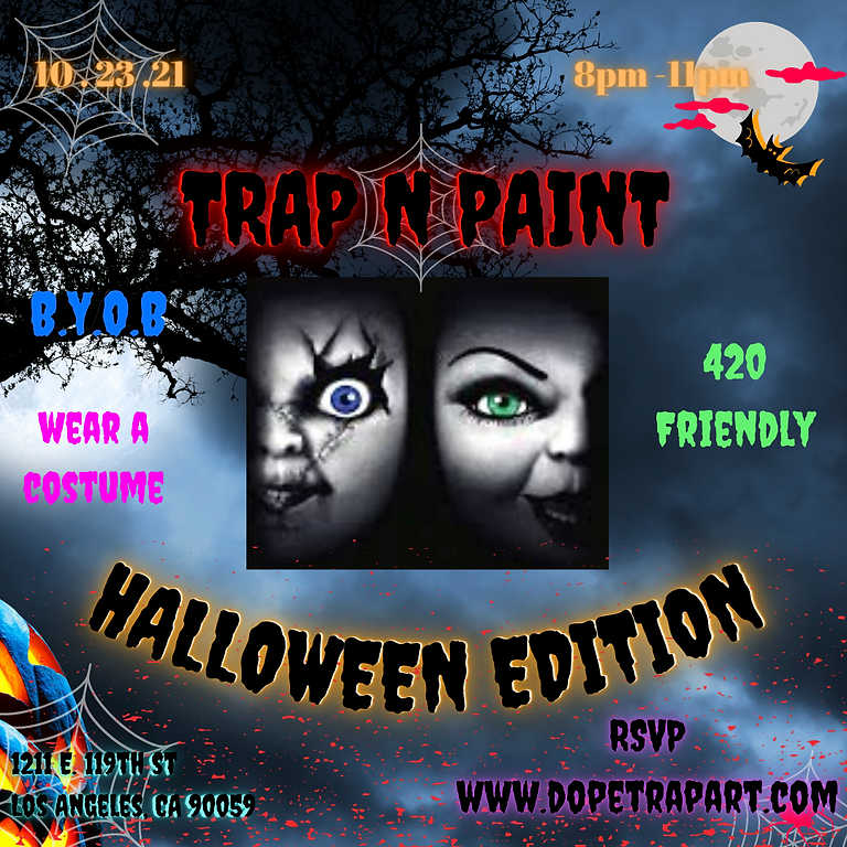 Trap N Paint Halloween Edition (Private Party)