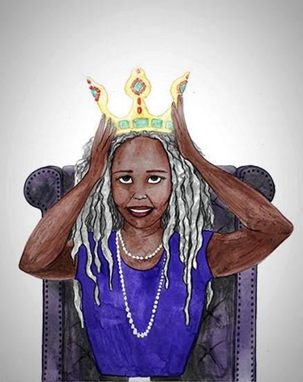 black woman queen
