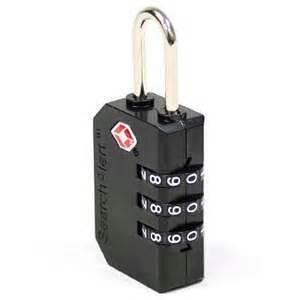 TSA padlock for flight cases fits Nanuk and others