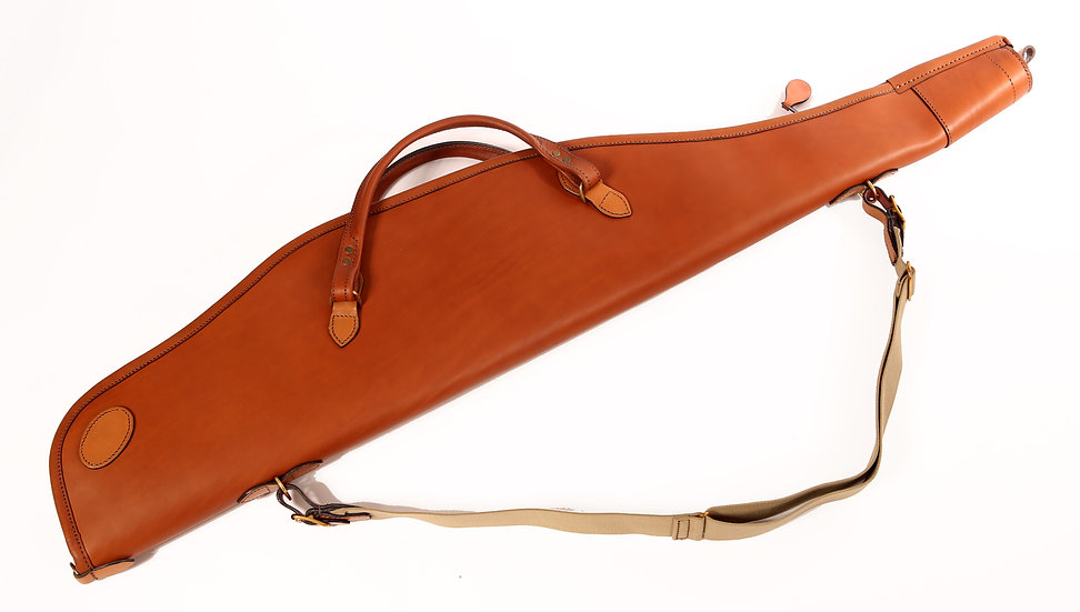 Rifle Slip in Tan Leather
