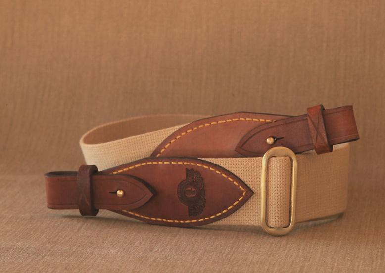 Els & Co Nieu Bathesda Leather and canvas safari rifle sling