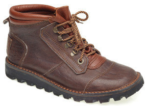 Courteney safari boots for Ladies in brown leather