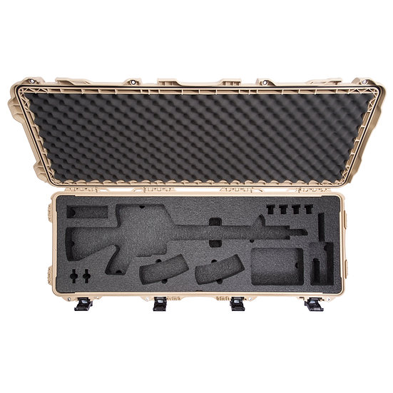 Guncase nanuk 995 for AR15 and pistol