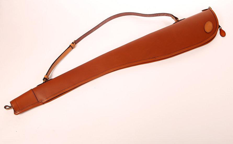 Shotgun Slip in Tan Leather