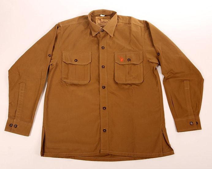 "Brown Safari Shirt ""South West"""