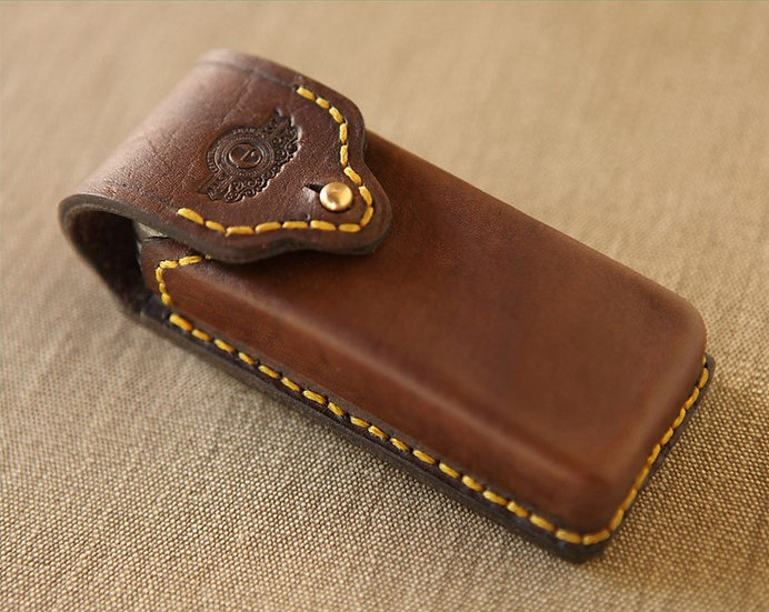 Milnerton handmade leather Leatherman pouch Safari Supplies