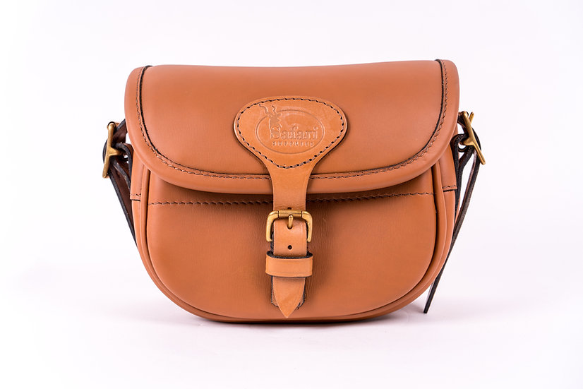 bespoke cartridge bags in leather
